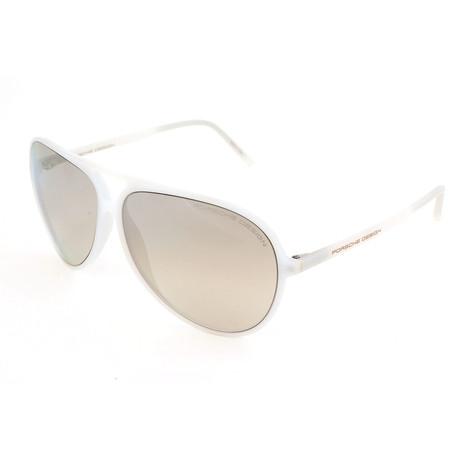 Men's P8595 Sunglasses // White