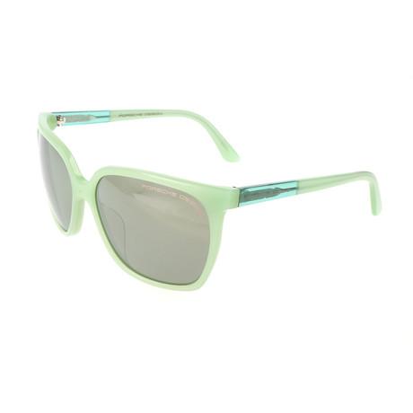 Women's P8589 Sunglasses // Green