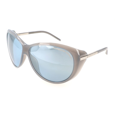 Women's P8602 Sunglasses // Light Gray