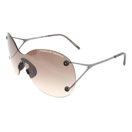Women's P8621 Sunglasses // Gunmetal + Gray