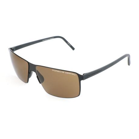 Men's P8646 Sunglasses V2 // Black