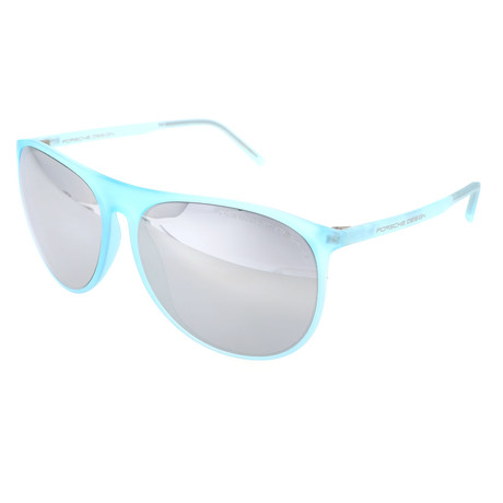 Unisex P8596 Sunglasses // Light Blue
