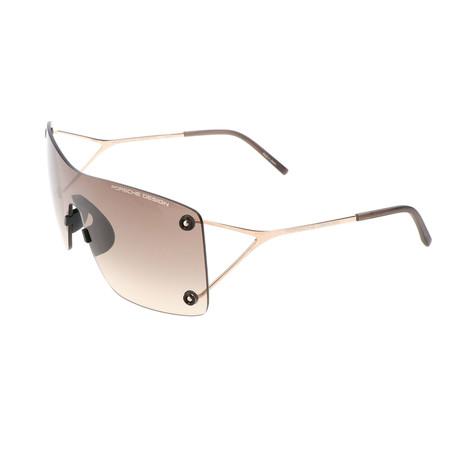 Men's P8621 Sunglasses // Gold + Gray