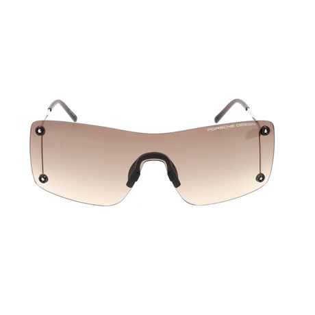 Men's P8621 Sunglasses // Gold + Gray