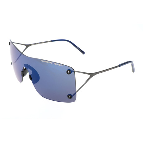 Men's P8623 Sunglasses // Gunmetal + Blue