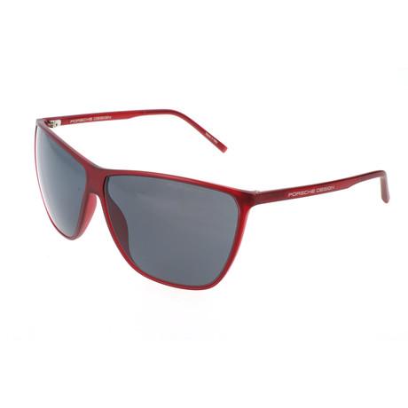 Unisex P8612 Sunglasses // Red