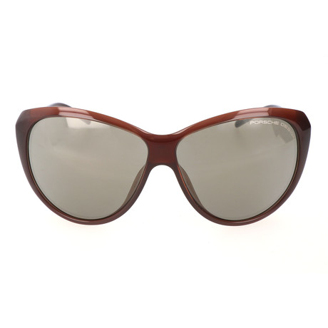 Women's P8602 Sunglasses // Dark Chocolate