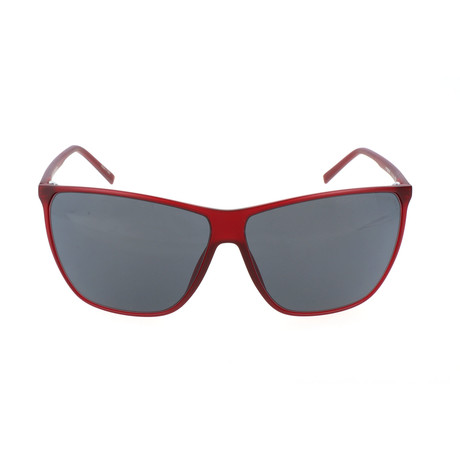 Unisex P8612 Sunglasses // Red