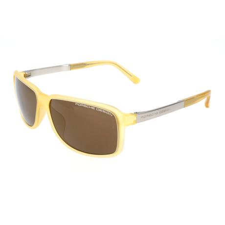 Men's P8555 Sunglasses // Yellow