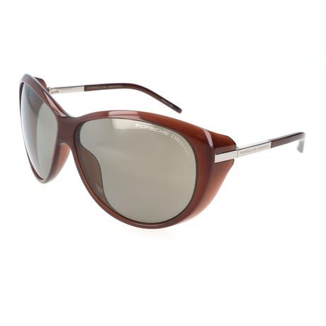 Women's P8602 Sunglasses // Dark Chocolate