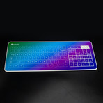 Glass Touch Smart Keyboard // WIRED (Glossy Red + Red-Blue Gradient)