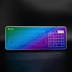 Glass Touch Smart Keyboard // WIRED (Matte Red + Red-Blue Gradient)