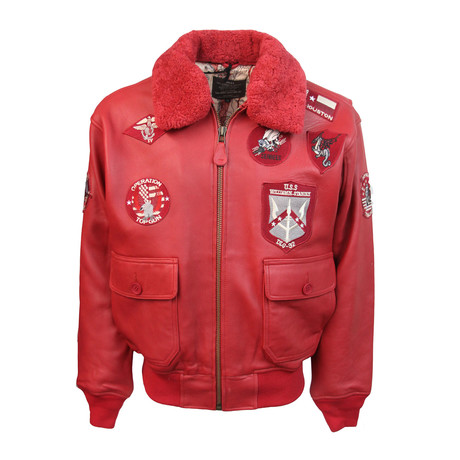 Top Gun® Official Signature Series Jacket // Red (S)