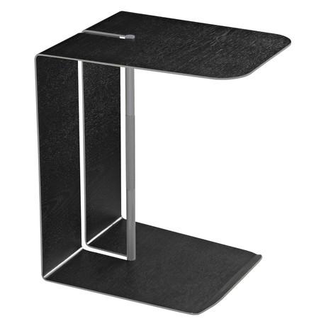 Nassau Side Table // Black Oak