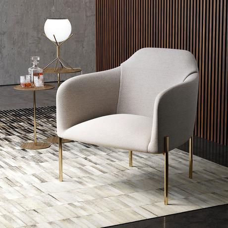 Tiemann Lounge Chair (Birch Fabric)