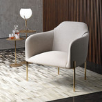 Tiemann Lounge Chair // Birch Fabric