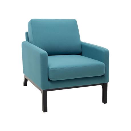 Liva Lounge Chair (Teal)