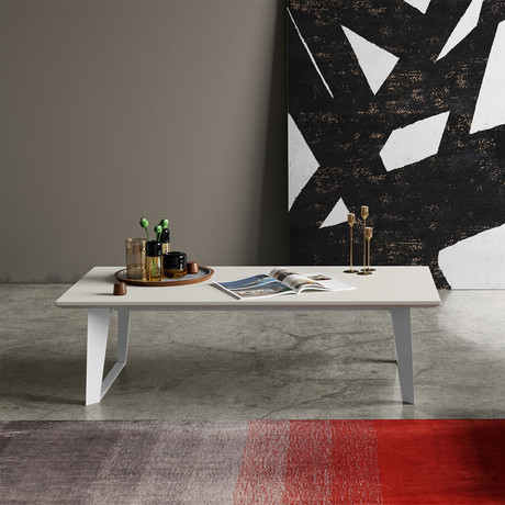 Amsterdam Coffee Table // White Sand Concrete