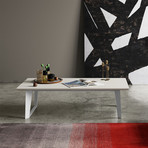 Amsterdam Coffee Table // White Sand Concrete
