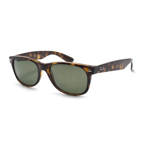 Men's New Wayfarer Classic Sunglasses // Shiny Havana