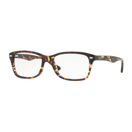 Ray-Ban // Men's 0RX5228 Rectangle Optical Frames // Havana