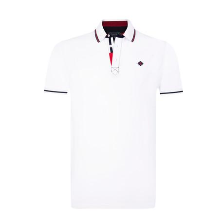 Cham Polo Shirt // White (S)