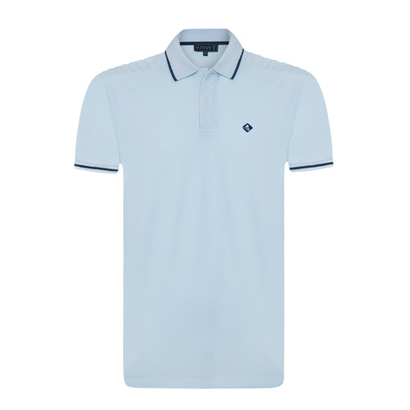 Sholdy Polo Shirt // Baby Blue (S)