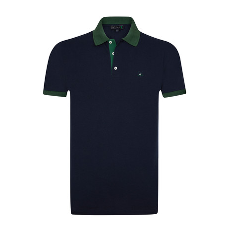 Bomonthy Polo Shirt // Navy (S)
