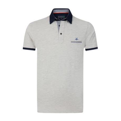 Centrum Polo Shirt // Grey Melange (S)