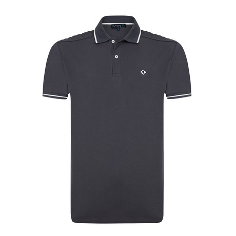 Sholdy Polo Shirt // Anthracite (S)