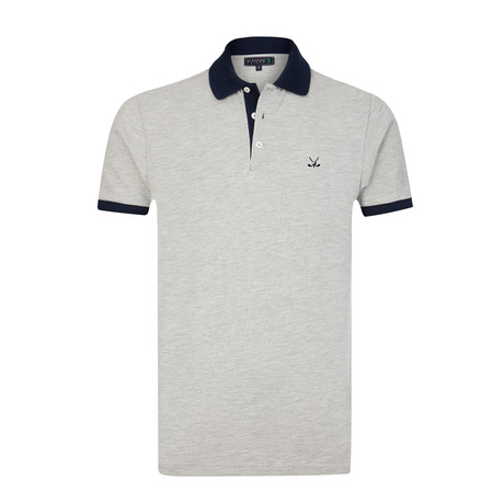Bomonthy Polo Shirt // Grey Melange (S)