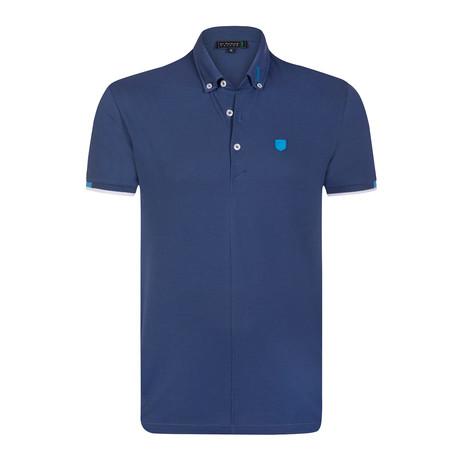 Villarrica Polo Shirt // Marine (S)