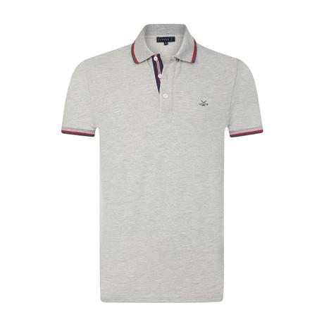 Pauly Polo Shirt // Grey Melange (S)