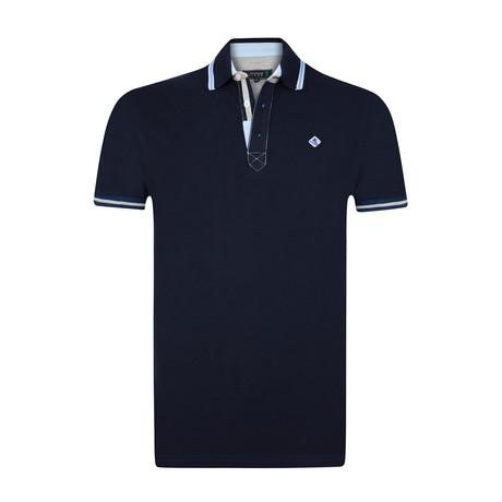 Cham Polo Shirt // Dark Navy (S)