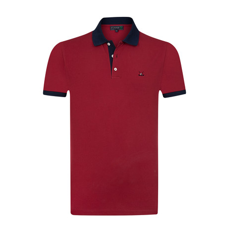 Bomonthy Polo Shirt // Red (S)