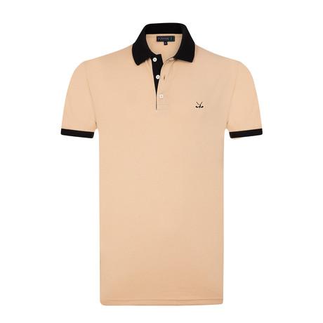 Bomonthy Polo Shirt // Light Berown (S)