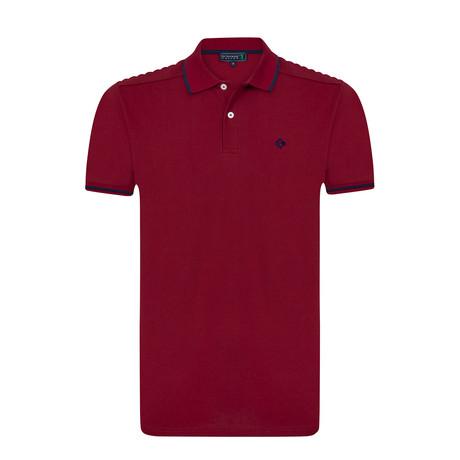 Sholdy Polo Shirt // Bordeaux (S)