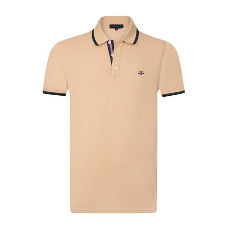 Pauly Polo Shirt // Salmon Color (S)