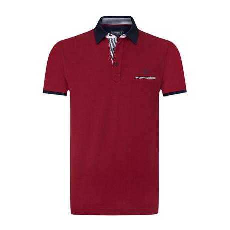 Centrum Polo Shirt // Red (S)