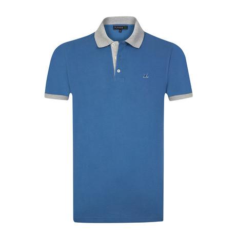 Bomonthy Polo Shirt // Blue (S)