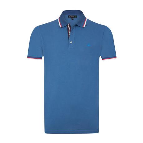 Pauly Polo Shirt // Indigo (S)