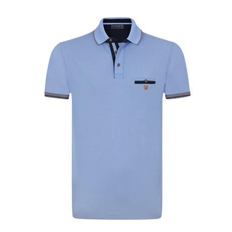 Gear Polo Shirt // Blue (S)