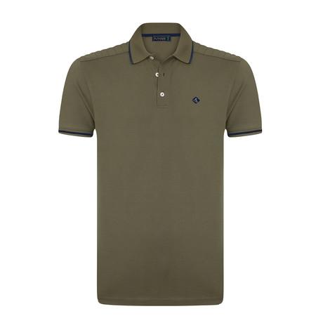 Sholdy Polo Shirt // Khaki (S)