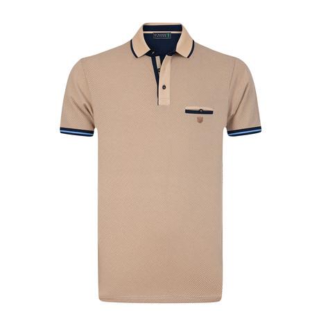 Gear Polo Shirt // Light Brown (S)