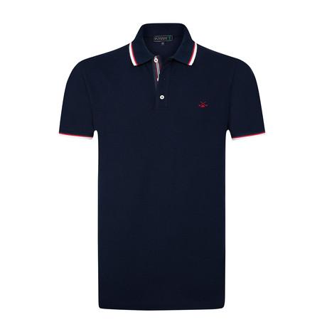 Pauly Polo Shirt // Navy (S)