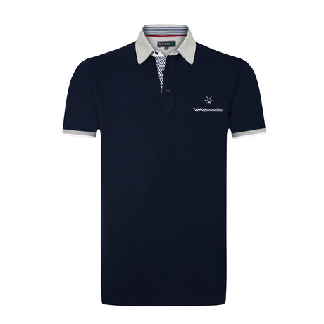 Centrum Polo Shirt // Navy (S)