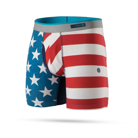 Glory Glory Boxer Briefs // Blue (S)
