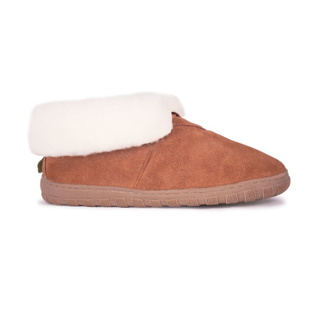 Women's Bootie Slippers // Chestnut (US: 9)