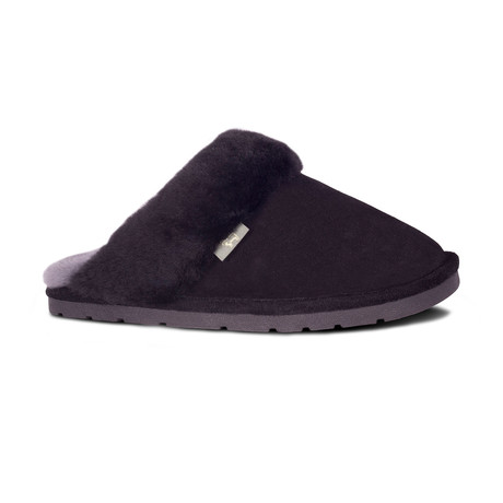 Women's Scuff Slippers // Black (XS)