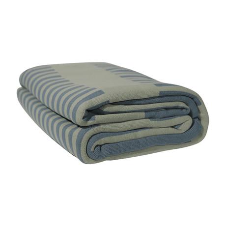 Premium Woven Blanket // Sage Ladders